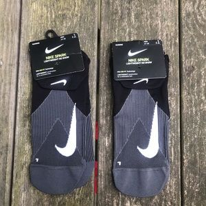 2 NWT Pairs Nike Spark No Show Socks L 14-16 shoes